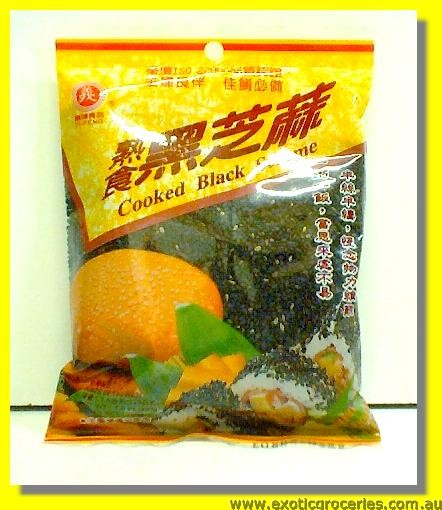 Cooked Black Sesame