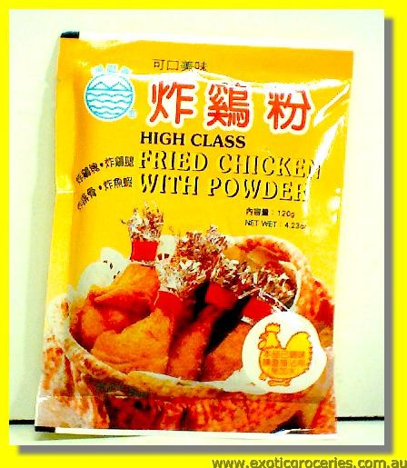 High Class Fried Chicken with Powder