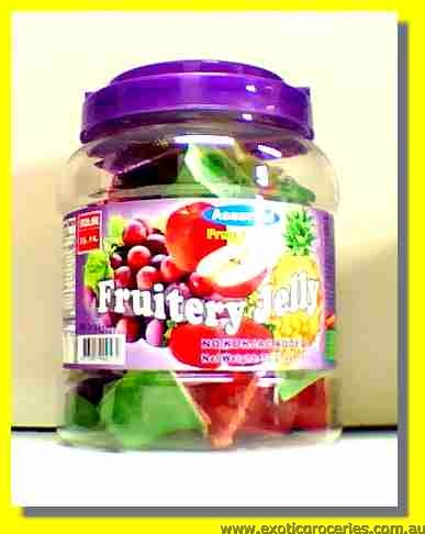 Assorted Fruit Flavour Jelly