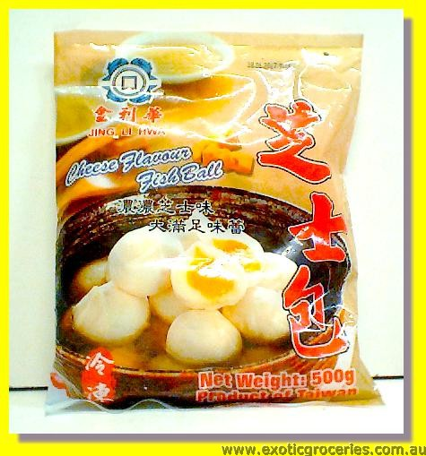 Frozen Cheese Flavour Fish Ball