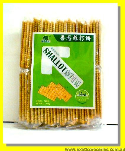 Shallot Soda Crackers 14packs