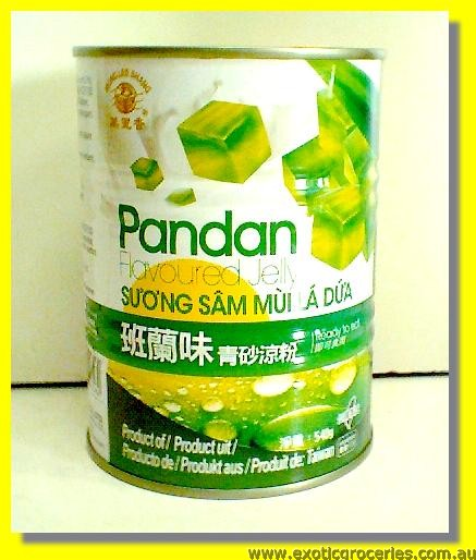 Pandan Flavoured Jelly