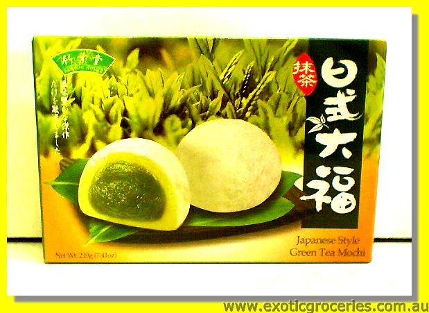 Japanese Style Green Tea Mochi
