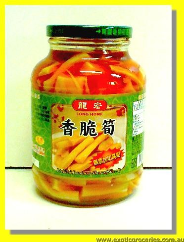 Pickled Bamboo Shoots Sliced (Chilli Bamboo Shoots)