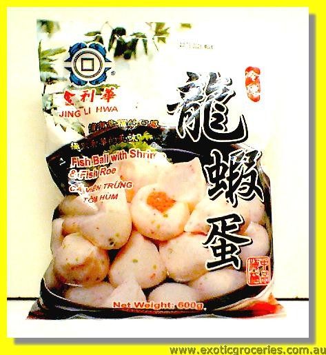 Frozen Fish Ball with Shrimp & Fish Roe