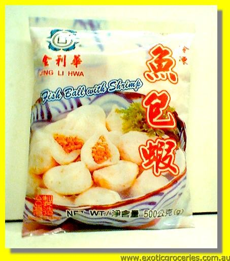 Frozen Fish Ball with Shrimp