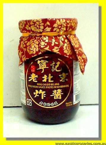 Fried Bean Sauce (Paste) in Soybean Oil