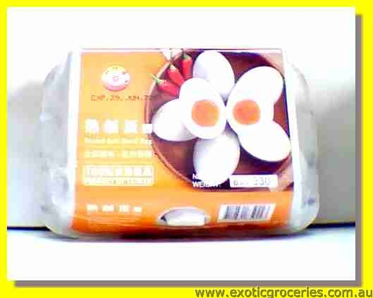 Boiled Salted Duck Eggs 6pcs