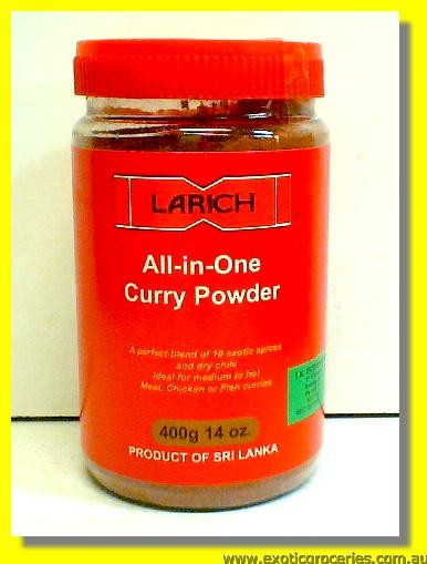 All-In-One Curry Powder