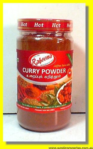 Curry Powder Hot (100% Vegetarian)