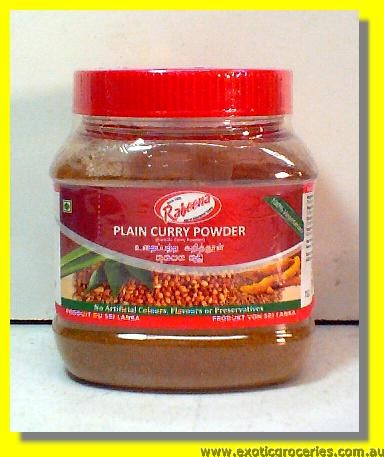 Plain Curry Powder (100% Vegetarian)