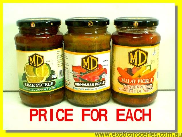 Lime Pickle/ Sinhalese Pickle/ Malay Pickle