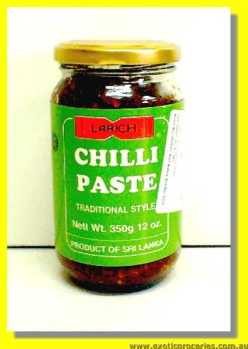 Traditional Style Vegetarian Chilli Paste