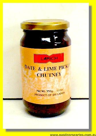Date & Lime Pickle Chutney