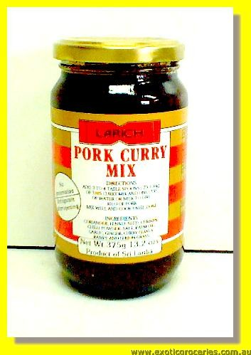 Pork Curry Mix