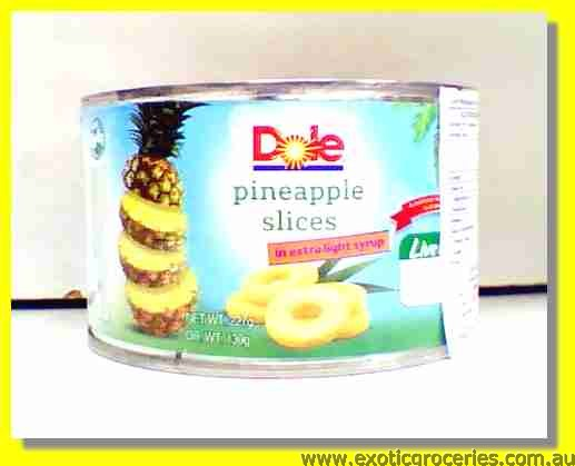 Pineapple Slices in Extra Light Syrup