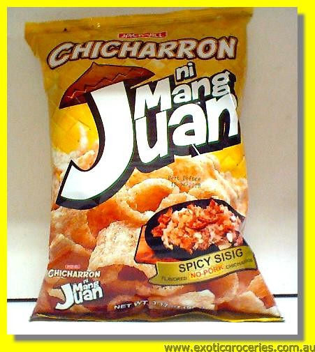 Mang Juan Chicharon Spicy Sisig (Chicharron)
