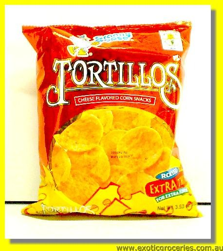 Tortillos Cheese Flavoured Corn Snacks