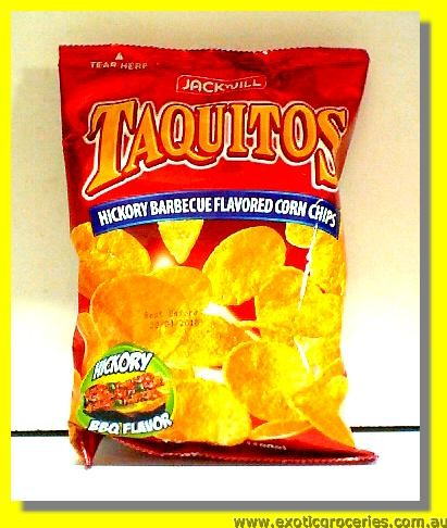 Hickory Barbecue Flavored Corn Chips (Taquitos)