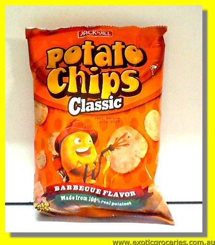 Potato Chips Barbecue Flavor