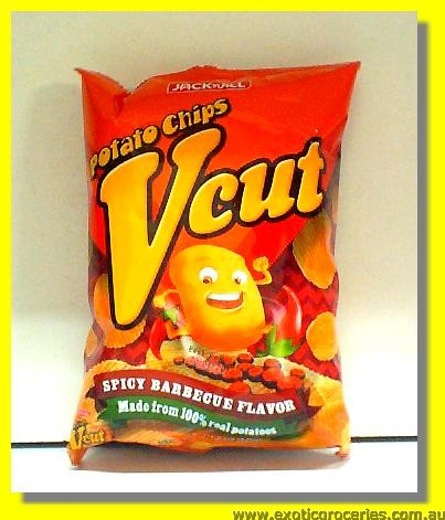 Vcut Potato Chips (Spicy BBQ Flavor)