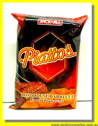 Piattos Roadhouse Barbeque Flavoured Potato Chips
