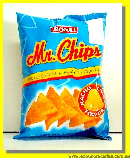 Nacho Cheese Flavoured Corn Chips