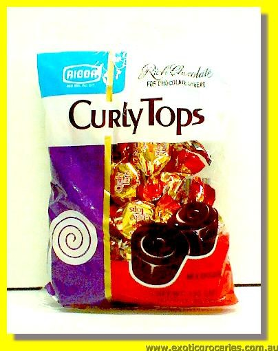 Curly Tops Milk Chocolate