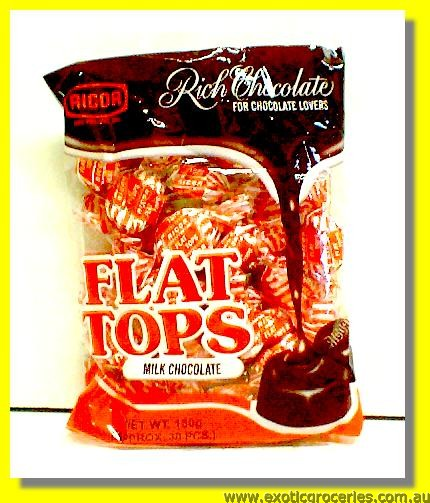 Flat Tops Milk Chocolate