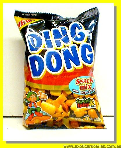 Ding Dong Mixed Nuts Sweet & Spicy Flavour