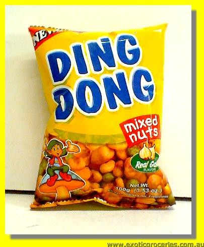 Ding Dong Mixed Nuts Garlic Flavour