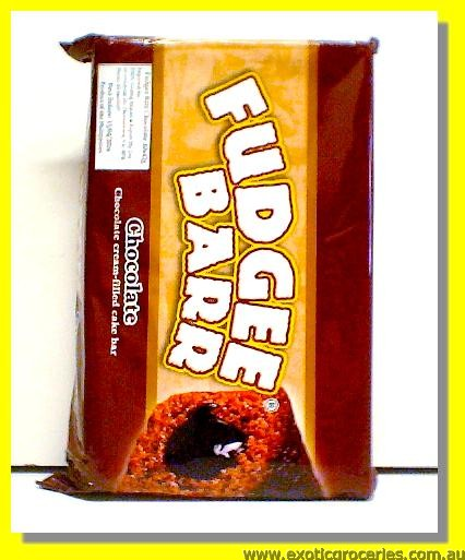 Fudgee Barr Chocolate Cream Filled Cake Bar