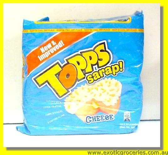 Topps Sarap Cupcake with Cheese Frosting & Custard Filling 10pac