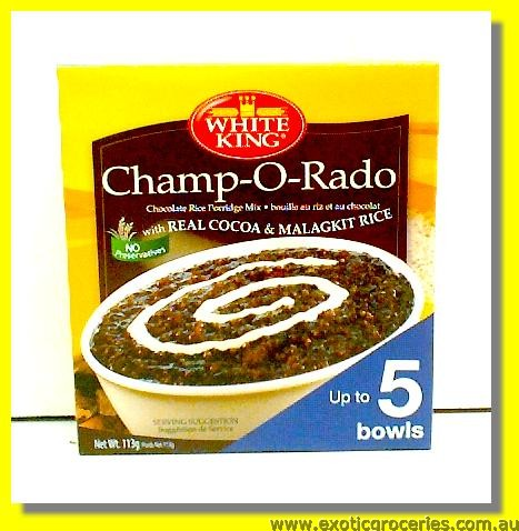 Chocolate Rice Porridge Mix Champ-O-Rado