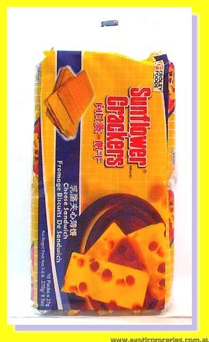 Cheese Sandwich Crackers 10packs