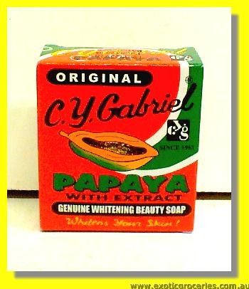 Whitening Beauty Soap with Papaya Extract