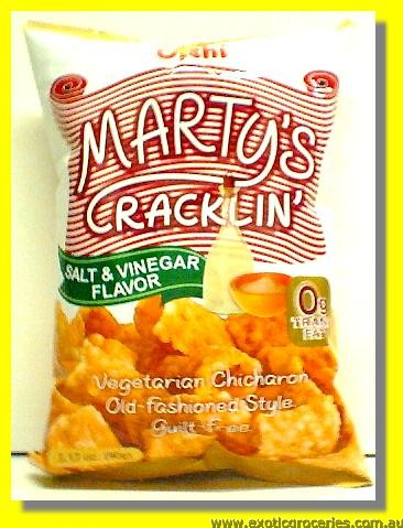 Vegetarian Chicharon Salt & Vinegar Flavor