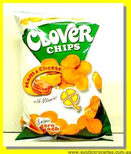 Clover Chips Ham & Cheese Flavour