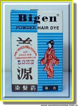 Hair Dye Powder C Dark Brown