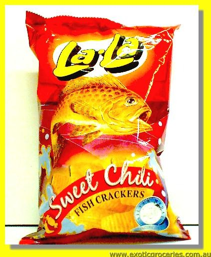 Fish Crackers Sweet Chilli Flavoured