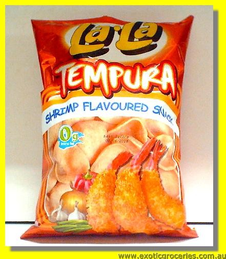 Tempura Shrimp Flavoured Snack