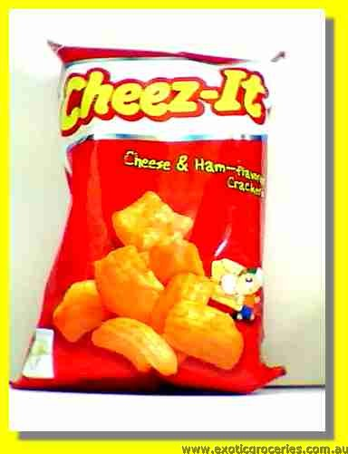 Cheez-It Cheese & Ham Flavoured Crackers