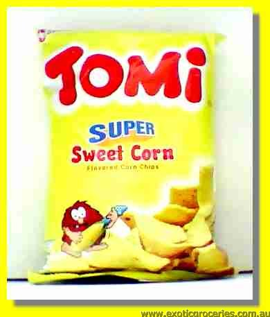 Sweet Corn Flavoured Corn Chips