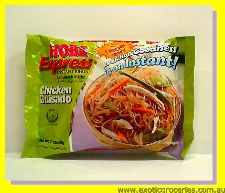 Instant Cornstarch Sticks Chicken Guisado Flavour (Bihon)