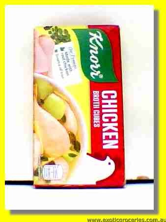 Chicken Broth Cubes 6pcs