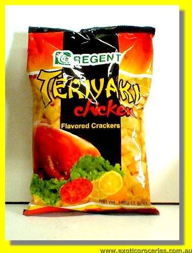 Teriyaki Chicken Flavored Crackers