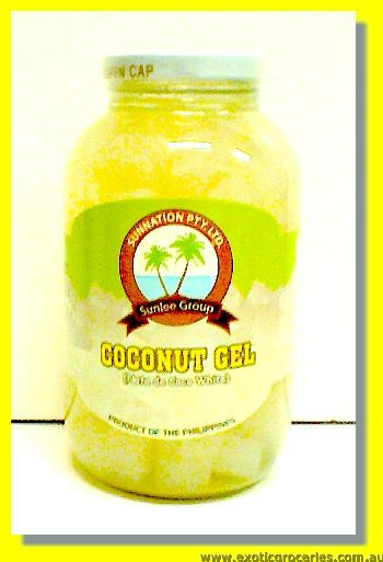 Coconut Gel Nata De Coco White