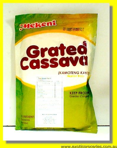 Frozen Grated Cassava