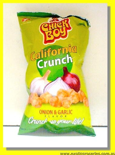California Crunch Onion & Garlic Flavour