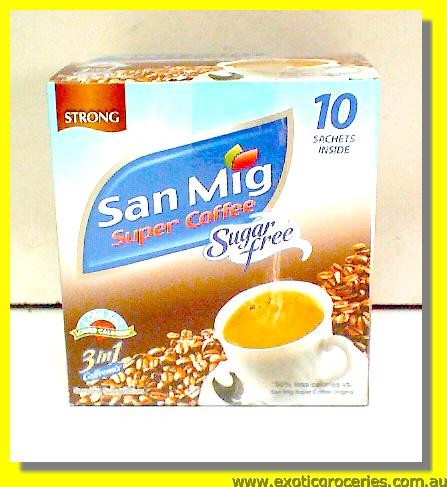 Sugar Free Instant Coffee Mix 3in1 10sachets